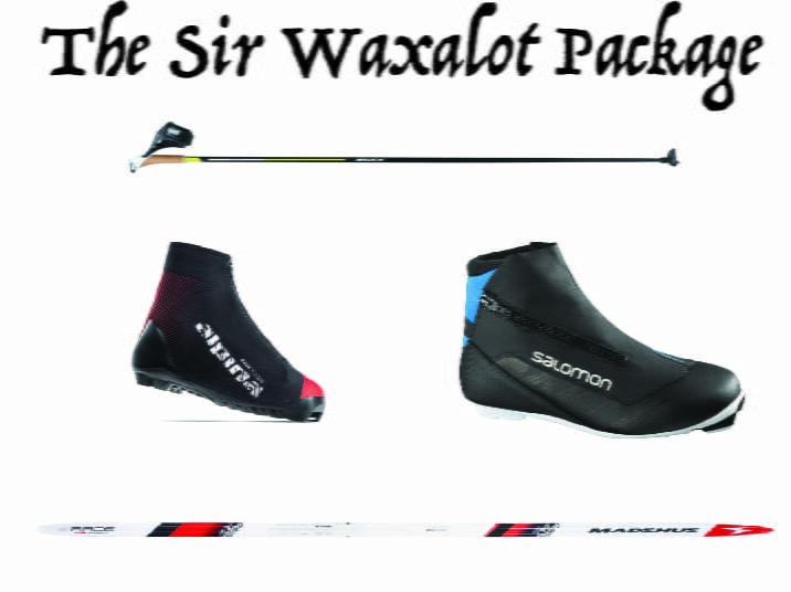 The Sir wax a lot Package