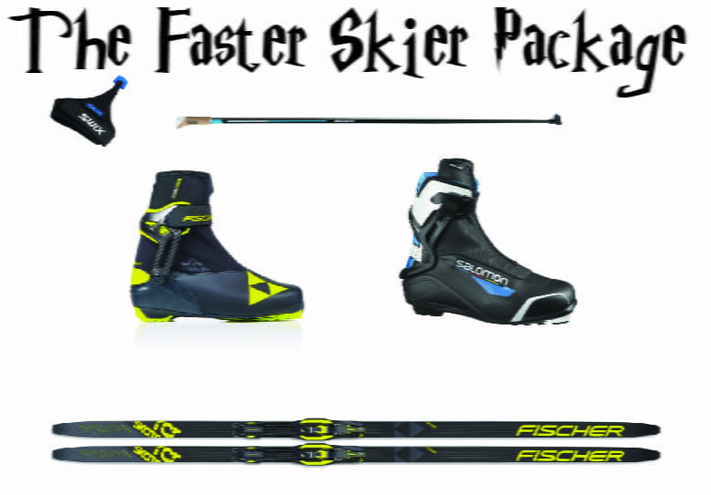 The faster skier Package